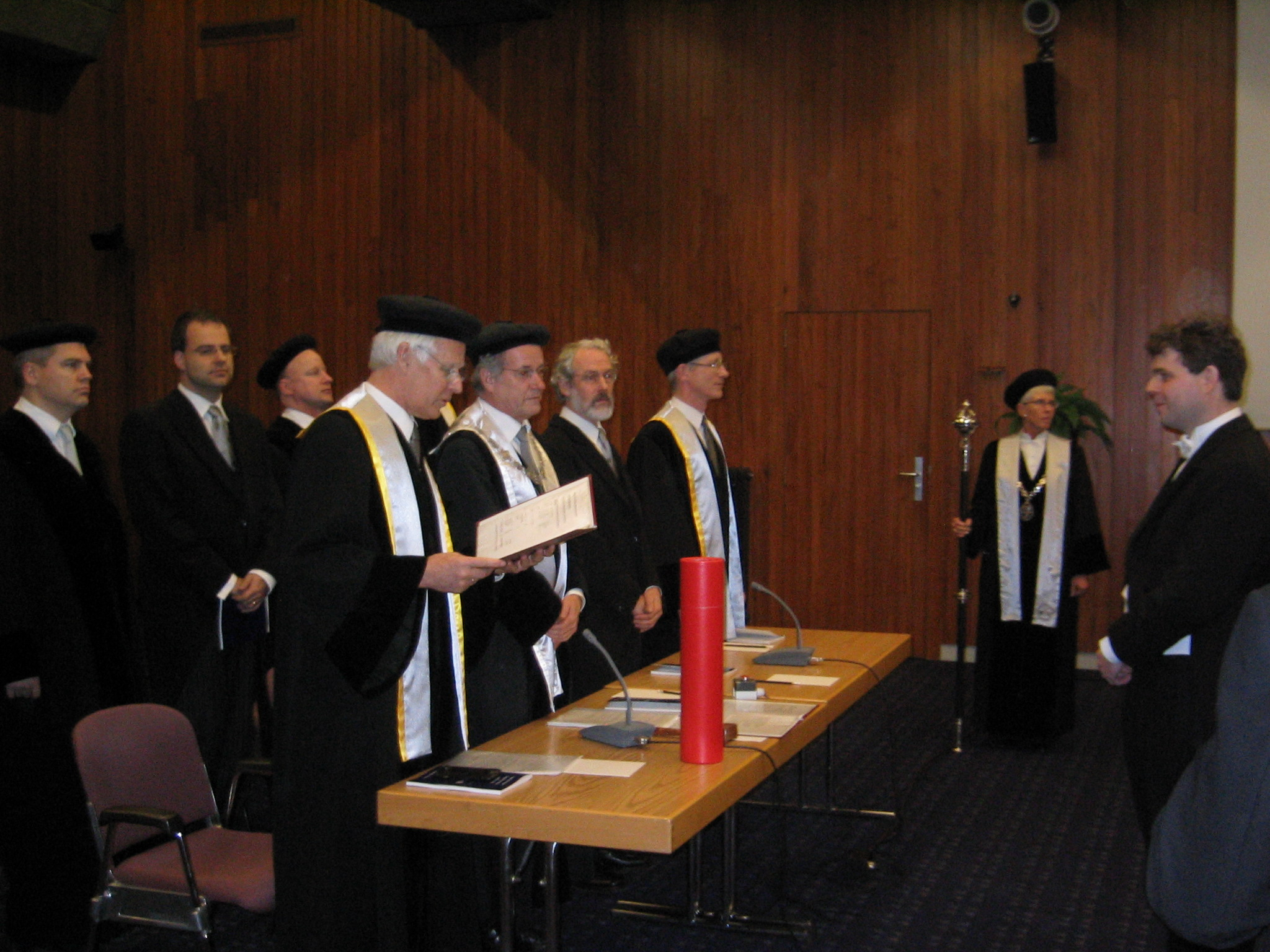 phd defense The purpose of the defense is to provide a thorough evaluation of the dissertation and the student's understanding of the research, as well as the student's ability to report information to the scientific community in a well-organized and interesting form.
